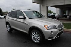 2014 Bmw X3 xDrive28i AWD xDrive28i 4dr SUV SUV 4 Doors Silver for sale in Schererville, IN Source: http://www.usedcarsgroup.com/used-bmw-for-sale-in-schererville-in