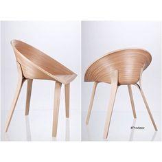 From Prodeez Product Design: Tamashii Chair by Anna Stepankova. #furniture #chair #wood #creative #design #ideas #art #designer #annastepankova #interior #interiordesign #product #productdesign #instadesign #furnituredesign #prodeez #industrialdesign