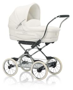 Vittoria | @Inglesina's white and elegant #stroller