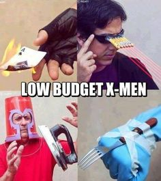 Low budget #XMen, the mutants we want and need right now.