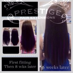 Purple and blue flashes in Brown Prestige Keratin bonded Hair Extensions Manchester Stockport Salons