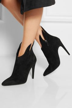 Bottega VenetaSuede ankle boots