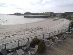 Ruin Beach Cafe webcam view on Tresco Island - the Isles of Scilly