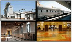 Union Station.     This Grand Train Station built in 1939 has been restored to original condition. Entering the building you can almost see the crowds of passengers rushing to catch their trains back in the railroad heyday of 1940s.