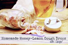 Recipe: Homemade Honey Lemon Cough Drops with Ginger