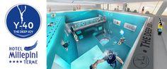 Dal progetto creativo dell'Architetto e direttore dell'Hotel Terme Millepini Emanuele Boaretto. Il progetto nasce con delle caratteristiche del tutto speciali, anzi...uniche al mondo.