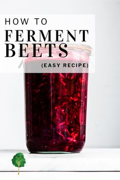 With just four ingredients, this beetroot relish is a breeze to make. Apples bring a punch of sweetness to earthy beets while horseradish offers the mildest touch of heat. Unlike traditional relish, which acquires its sourness from vinegar, this relish is fermented for plenty of deep flavor.