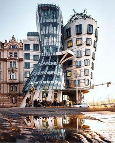 Times Square, Tower, Building, Travel, Prague, Rook, Viajes, Computer Case, Buildings
