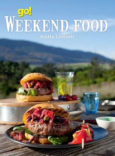 go! Weekend Food: brings together easy and affordable recipes from the popular Weg/go! magazine. This beautiful book is full of ideas for relaxed food for any weekend whether you stay at home, entertain friends or head into the outdoors. The more than 130 recipes are divided into chapters which make it easy to find food that will suit your mood.
