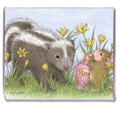 """Refrigerator Magnet"", Stock #: M-2016-5, from House-Mouse Designs®. This item was recently purchased off from our web site. Click on the image to see more information."