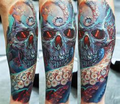 Realistic Animal Tattoo by Dmitriy Samohin   Tattoo No. 13595