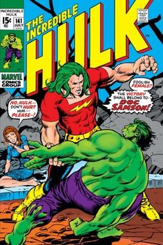 The Incredible Hulk #141 - His Name Is...Samson! (Issue)