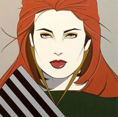 rare patrick nagel art - Google Search