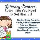 This is a large zipped file with everything you need to get started with literacy centers. Some files are PDF, others are editable PPT files.  This...