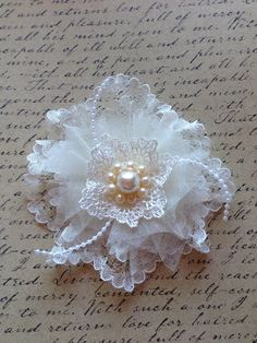 shabby chic flower idea