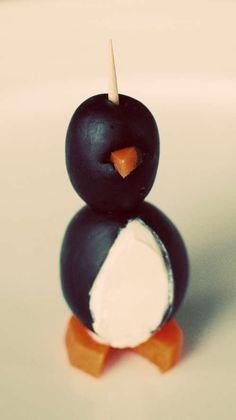 Olive penguins?!?
