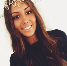 Our Gorgeous KOOKAÏette wearing the Ariel Headpiece $60 shop now in all Boutiques and online xx