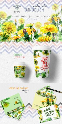 Bright Yellow Dandelion PNG Watercolor Set Illustration https://www.templatemonster.com/illustrations/bright-yellow-dandelion-png-watercolor-set-illustration-69177.html