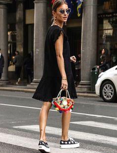 La petite robe : un bon prétexte pour abuser des accessoires ! (photo Lizzy van der Ligt)