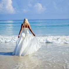 Imagine a wedding on the beach with turquoise water as your backdrop.
