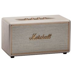 Marshall Stanmore multiroom højtaler (creme) Marshall Stanmore, Instant Camera, Room Goals, Home Alone, Interior Decorating, Interior Design, Marshalls, Smart Tiles, Bucket Lists
