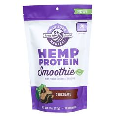 Love berries in your shake? Then our mixed berry flavor is sure to satisfy you! This Hemp Protein Smoothie combines the amazing taste of mixed berry, with a del Smoothie Proteine, 10 Day Green Smoothie, Smoothie Cleanse, Smoothie Recipes, Shake Recipes, Hemp Protein, Plant Based Protein, Healthy Shakes, Protein Shakes