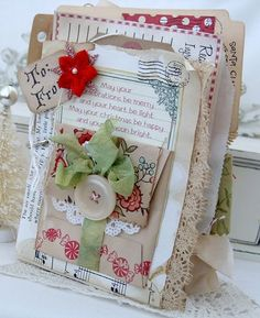 LilyBean's Paperie: Day 1 of 12 Days of Christmas & Crafty Christmas Challenge...