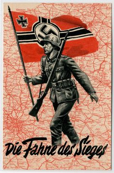 "German WW2 ""The flag of victory"""