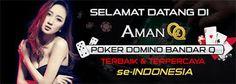 Selamat datang dan selamat bergabung di AmanQQ, situs permainan PokerQQ BandarQ Domino QQ terbesar dan terpercaya di Indonesia. Anda berada di website yang sangat tepat. AmanQQ memberikan jaminan keamanan akun Anda 100%, pastikan Anda menjaga keamanan data dan informasi akun Anda.