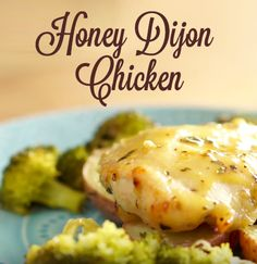Honey Dijon Chicken Recipe | This is a very simple one baking sheet dinner that's easy to throw together on those busy weeknights. Chicken, potatoes, and broccoli marinated and drizzled with a delicious honey dijon glaze makes for a flavorful meal. Click to watch the video to see how quick it is to make this simple dish! #familydinner