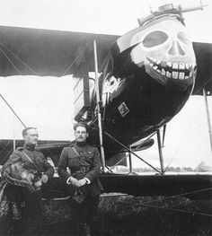 The Farman F.40 was a French pusher biplane reconnaissance aircraft....creative nose art