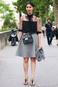 Street Chic: Paris Couture Week  - ELLE.com