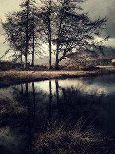 Glen Orchy & Glen Etive (by Julian Calverley) Moon Spells