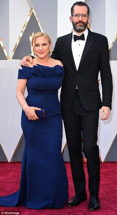 It takes two: Last year's Best Supporting Actress winnerPatricia Arquette brought along h...