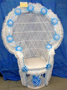 Superior Baby Shower Chair For Mom | ... Tableware Party Favors Baby Showers Party  Balloons