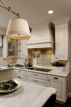 Carrera marble countertops  Door face style