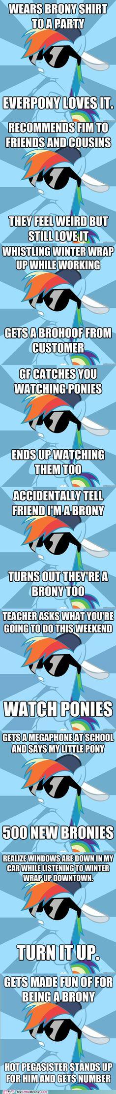 Socially Awesome Brony- Rainbowdash OHMAHGAWD THIS IS AMAZAYN!! haha hot pegasister