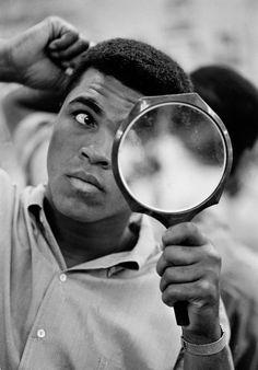 Muhammad Ali, photographed by Thomas Hoepker, 1966