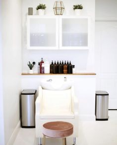 Check out the Avant Backwash System in Ivory at B + CO Salon in Huntersville, NC! The serene atmosphere makes for the perfect place to be pampered.