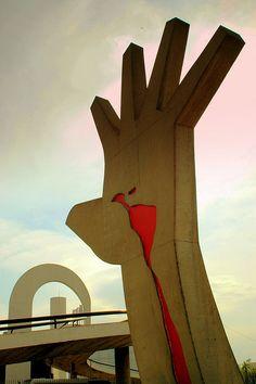 Oscar Niemeyer-Memorial da América Latina