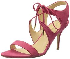 Ivanka Trump Womens Garver Dress Sandal Bright Pink 75 M US *** Click on the image for additional details.(This is an Amazon affiliate link)
