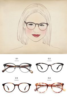 The best glasses for a square face shape