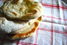 Pita bread:  Yum so good.  It said to let rise for 3 hours I only needed about 2.
