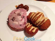 Game Terrine, Deep Fried Rabbit Balls From 'On The Game' With The Drunken Butcher