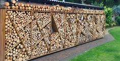 Outdoor Furniture, Outdoor Decor, Outdoor Storage, Firewood, Woodworking, Home Decor, Gardens, Wood Store, Lawn And Garden