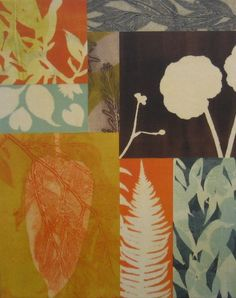 Mary Margaret Brigs monotype collage