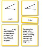 Use our basic geometry nomenclature sets for learning parts of an angle and types of angles. Terminology for right angles,..