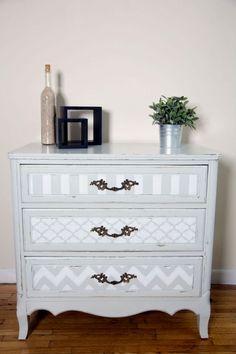 nice 57 Stylish Gray Shabby Chic Furniture Ideas #shabbychicdressersmakeover