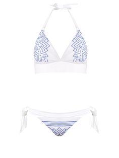 Danae Geo halterneck bikini Mitos Cheap Fake Comfortable Cheap Online zomMbntC