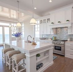 Beautiful White Kitchen, Home Builderu0027s Site With Quite A Few Gallery Pics.  Lots Of Home Inspiration Beautiful White Kitchen, Home Builderu0027s Site With  Quite ...